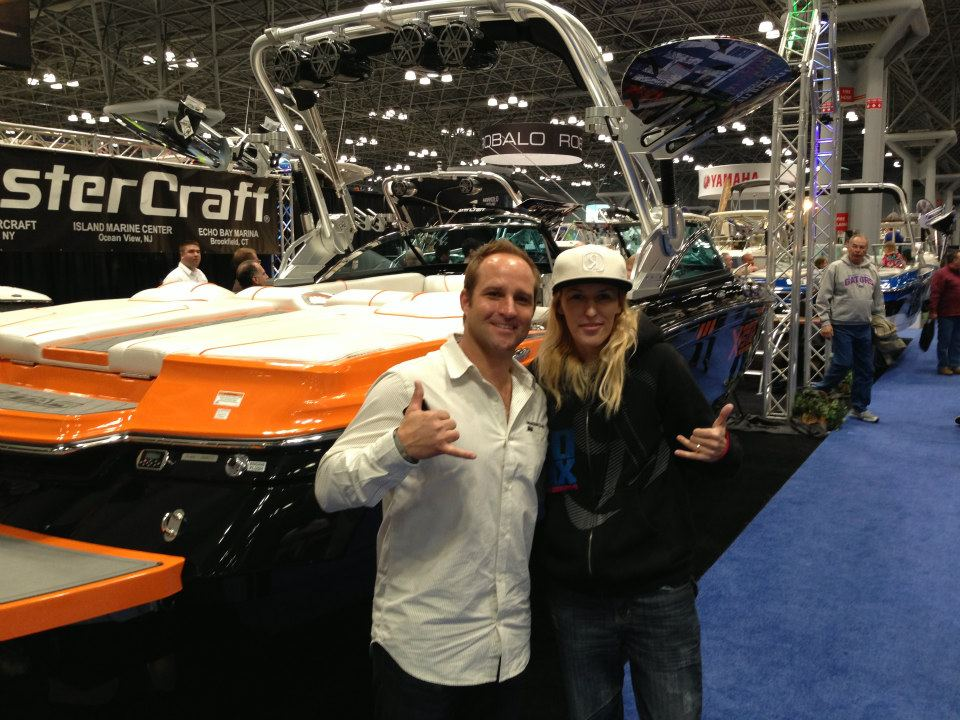 NY 2012 - Meeting w one of my fav riders Zane Schwenk