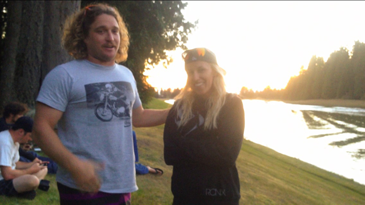 Impreuna cu legenda wakeboardingului mondial- Parks Bonifay discutam despre legenda wakeboardingului romanesc  Junior Ismailciuc - USA 2013