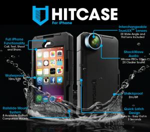 HITCASE – carcasa waterproof iPhone