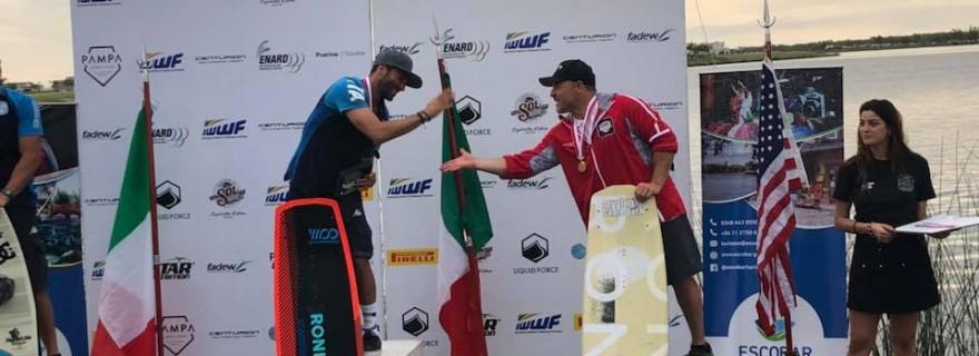 Veterans Men - locul I - Starita Francesco (ITA); locul III - Cartwright Dayle (USA)